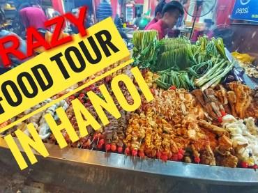 Die verrückte Food Tour durch Hanoi