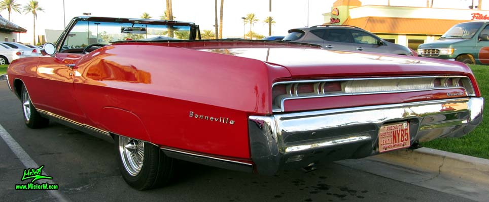 Rear   Tail Lights of a 67 Pontiac Convertible   1967 Pontiac     Rear   Tail Lights of a 67 Pontiac Convertible