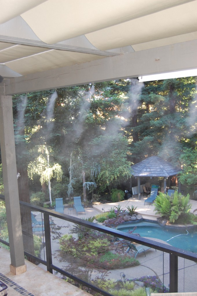 high pressure misting systems patio