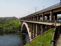 Константиновские мосты в Запорожье