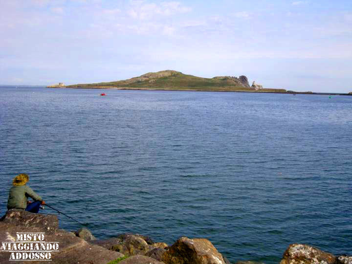 Howth Cliffs, the Ireland's Eye