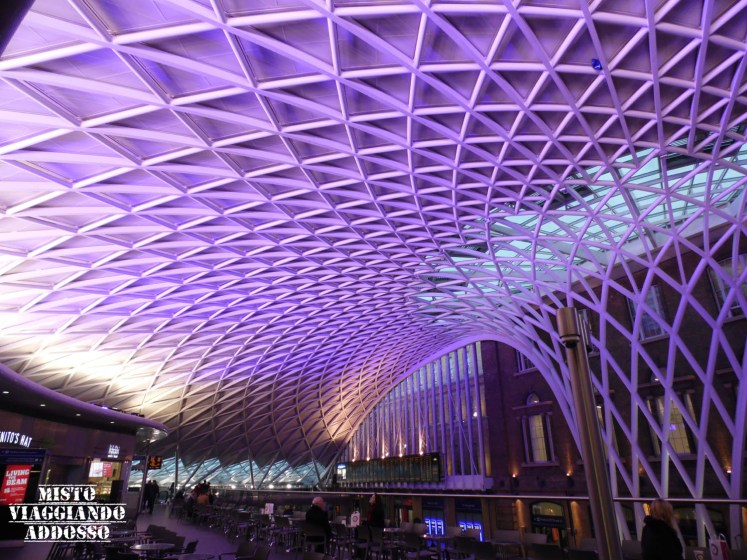 soffitto kings cross station londra