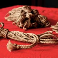 Handmade Jute Bondage Rope by Marcuslikes it. http://www.marcuslikesit.com/marcuslikesit/maker/store/jute-bondage-rope