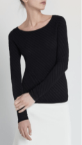 TSE - Ballet Sweater, cashmere, black. https://www.tsecashmere.com/ballet-sweater.html