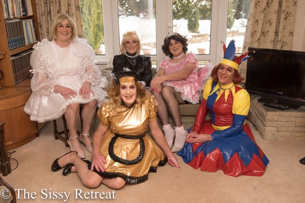 The Sissy Retreat gurls of February 2018