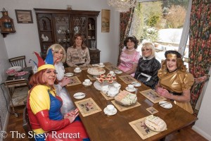 High tea at The Sissy Retreat
