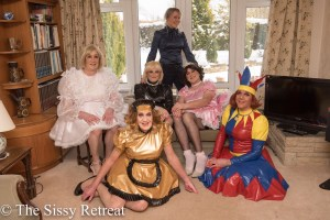 Mistress Firefly and The Sissy Retreat gurls