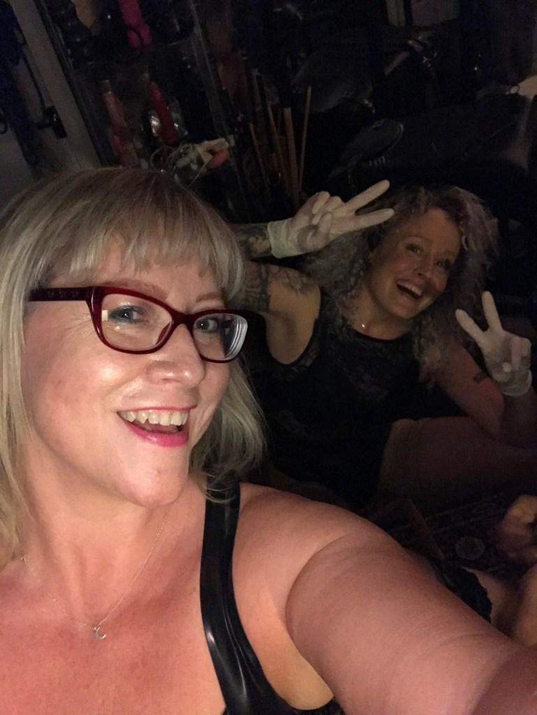 Mistress Helen Ryder & Mistress Firefly V's slave.