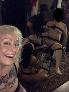 Mistress Firefly's Leeds BDSM playroom