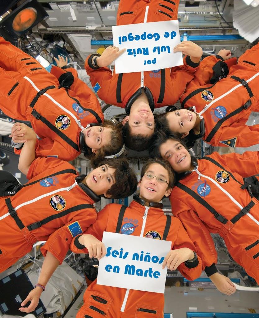 Seis-ninos-en-Marte