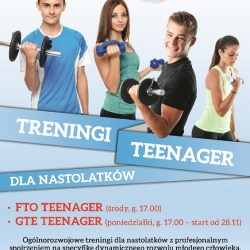 Treningi TEENAGER w Wellness Club Park Wodny