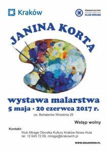 Wystawa malarstwa Janiny Korty @ os. Bohaterów Września 26