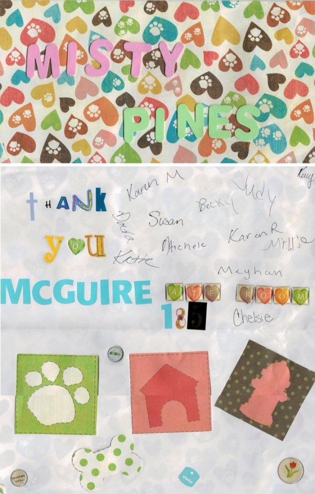 Thank you from McGuire Memorial Nursing Home