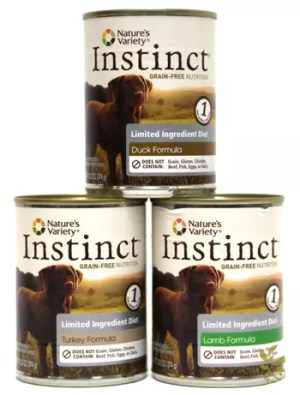 Nature's Variety Canned Dog Food