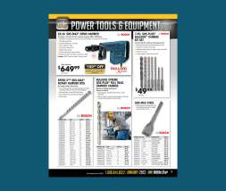White Cap Construction Supply catalog page
