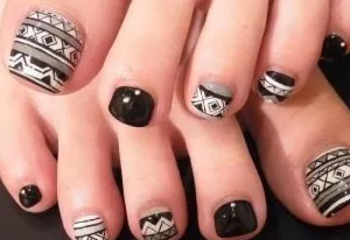 Ideas Para Decorar Las Uñas De Negro Mis Uñas Decoradas