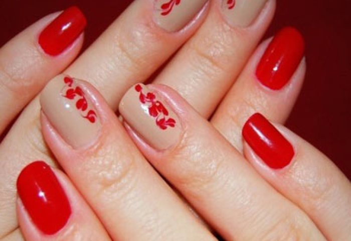Ideas Para Decorar Las Uñas De Rojo Mis Uñas Decoradas