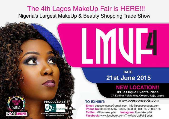 The 4th Lagos Makeup Fair (LMUF4) hold on Sunday