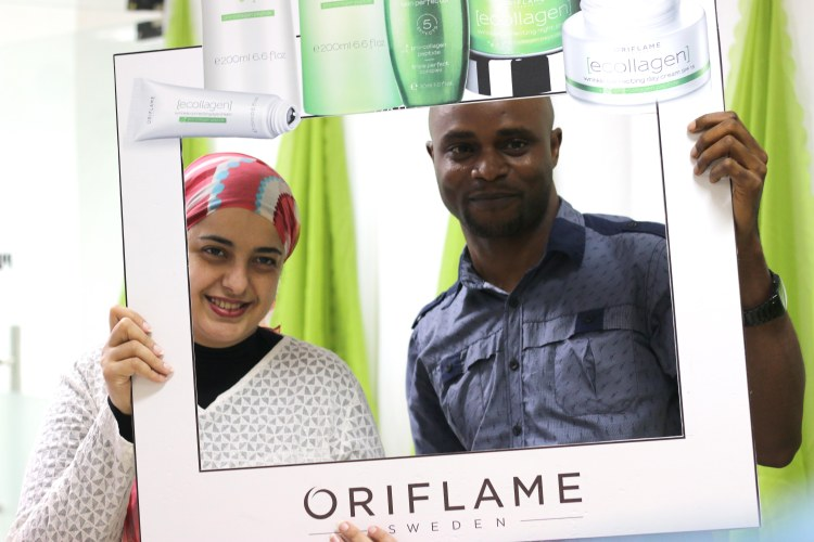 Oriflame Cosmetics Nigeria Beauty Party.