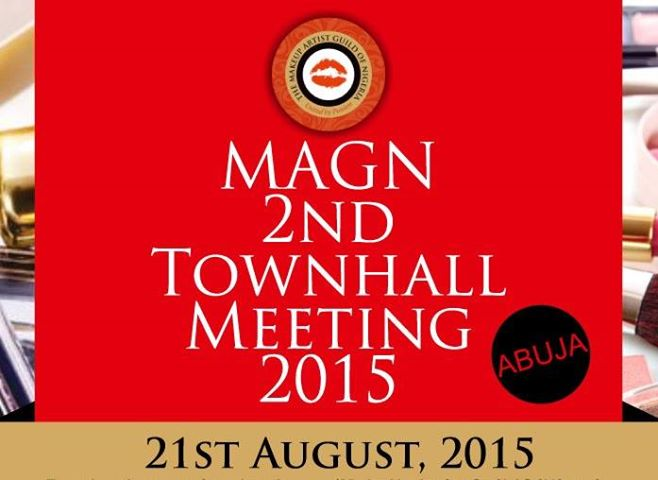 Makeup Artist Guild of Nigeria Town Hall Meeting (ABUJA)