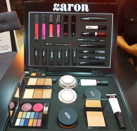 Zaron Cosmetics Beauty Brunch ,Unboxing and Giveaway