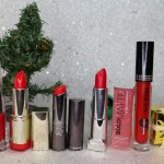 My Favorite Red Lipsticks for Christmas 2018.