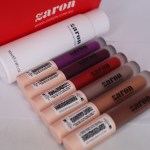 Zaron Cosmetics Matte lip fix and Zaron oil block Matifier Review.