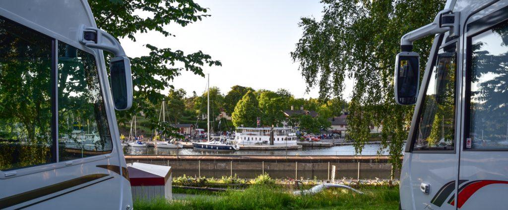 Stellplatz Trollhättan
