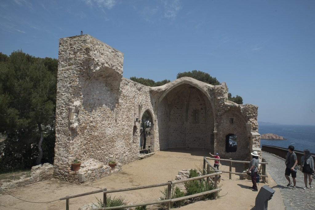 Ruine der Burgkapelle - Tossa de Mar