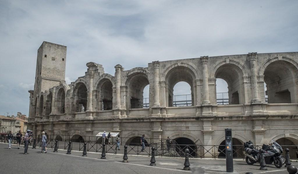 Arena Südwestseite - Arles
