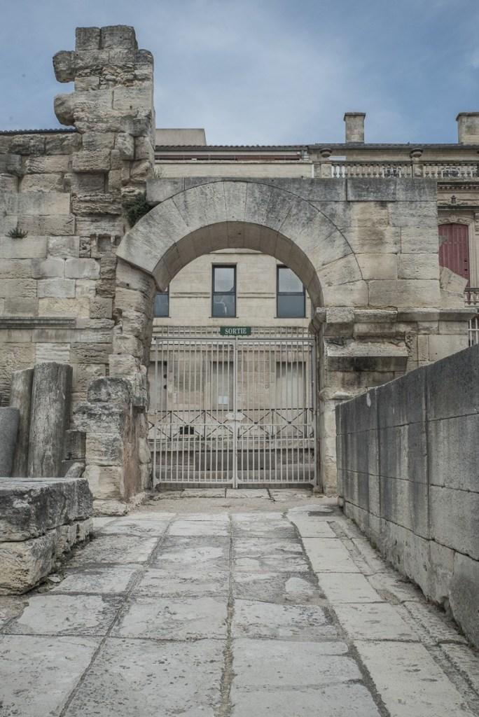 Arles - antikes TheaterArles - antikes Theater Ausgang Nord
