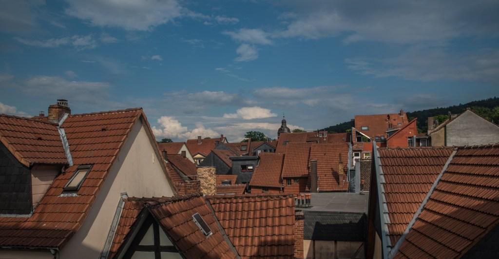 Über den Dächern von Hann Münden