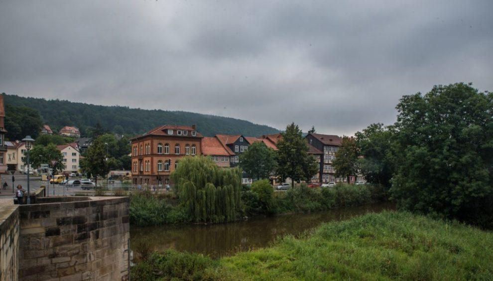 Weser - Blume, die Vorstadt von Hann. Münden