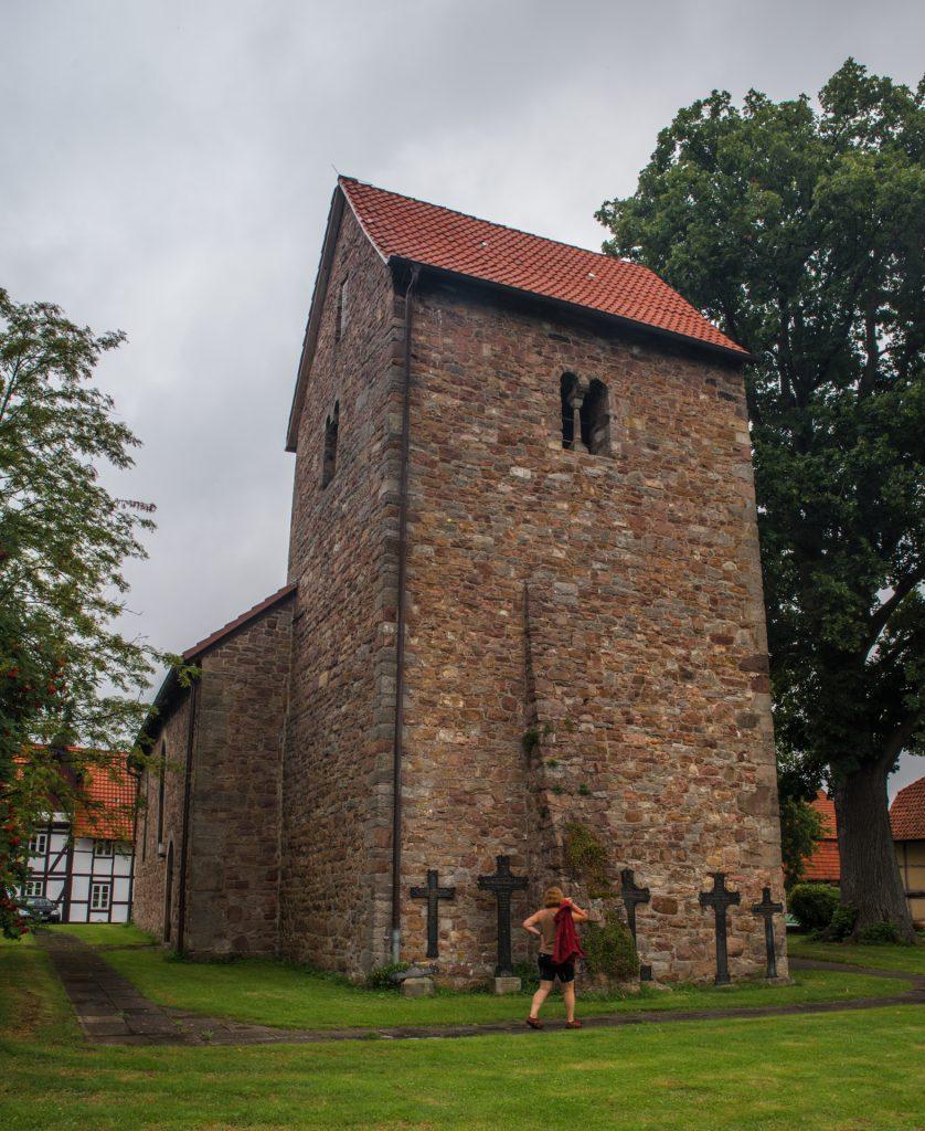Weser - Marienkirche Hemlen