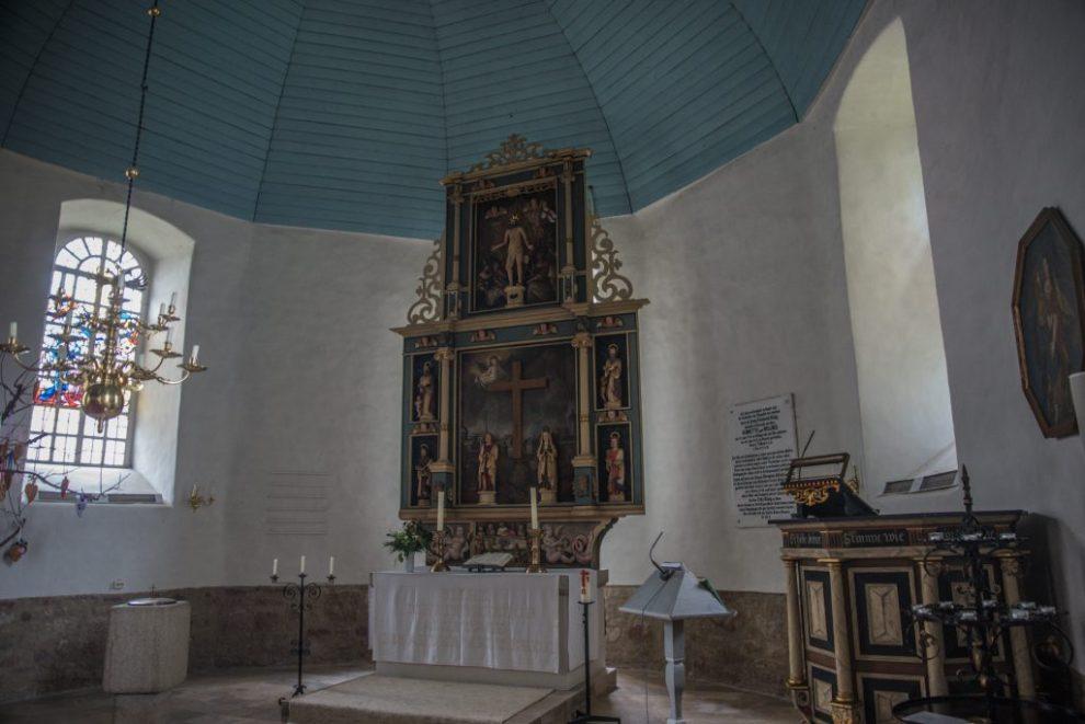 Altar - Marienkirche Hemlen