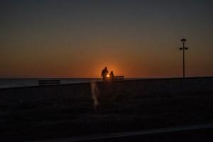 Sonnenuntergang Montalivet