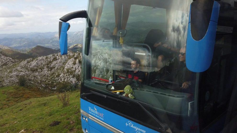 Gegenverkehr ganz nah- Covadonga