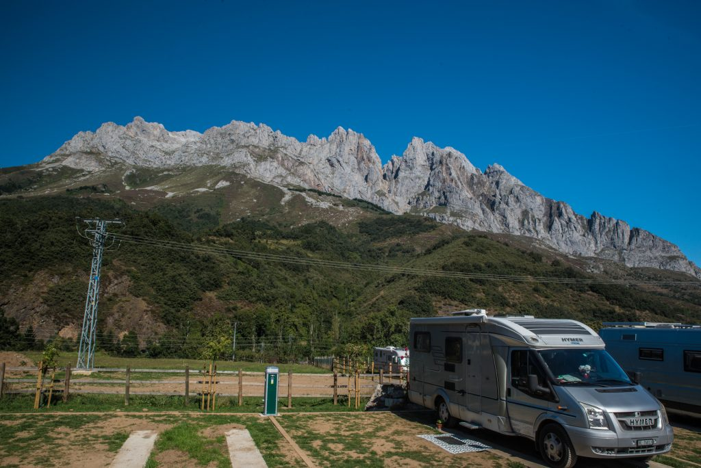 westliche Bergkulisse Posada de Valedón - Picos de Europa