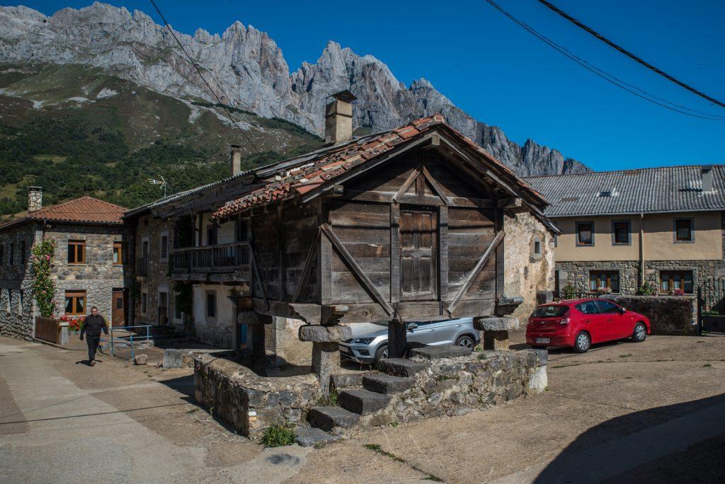 Getreidespeicher Posada de Valedón - Picos de Europa