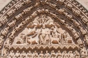 Detail Puerte de Sarmental - Catedral de Santa María Burgos