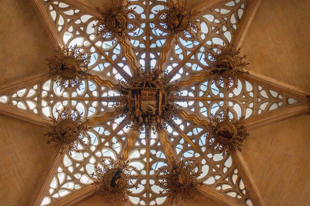 Detail Kuppel Capilla de los Condestables - Catedral de Santa María Burgos