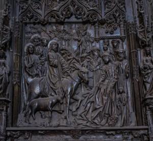 Einzug in Jerusalem - Catedral de Santa Maria Burgos