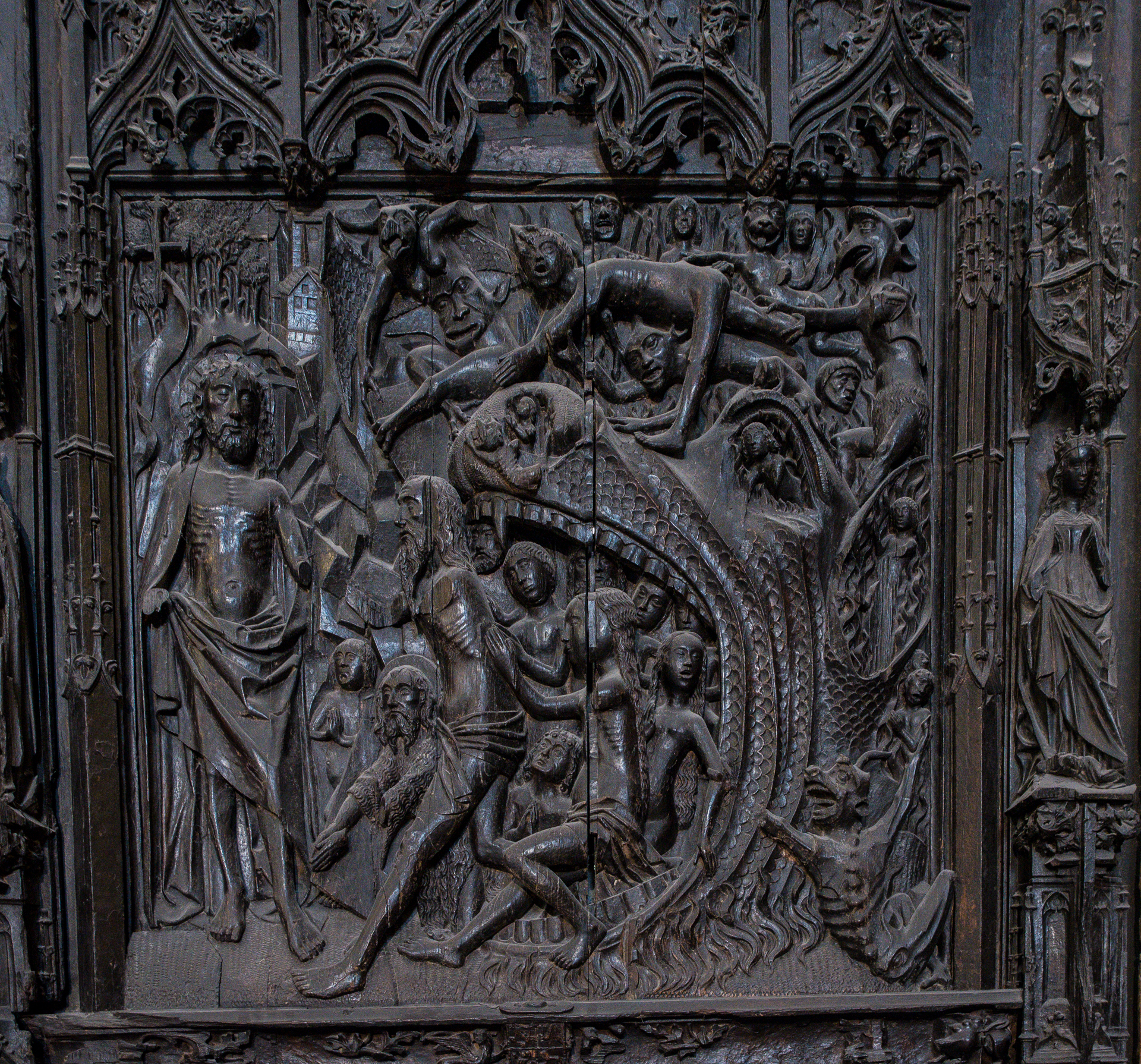 Höllenfahrt Christi- Catedral de Santa Maria Burgos