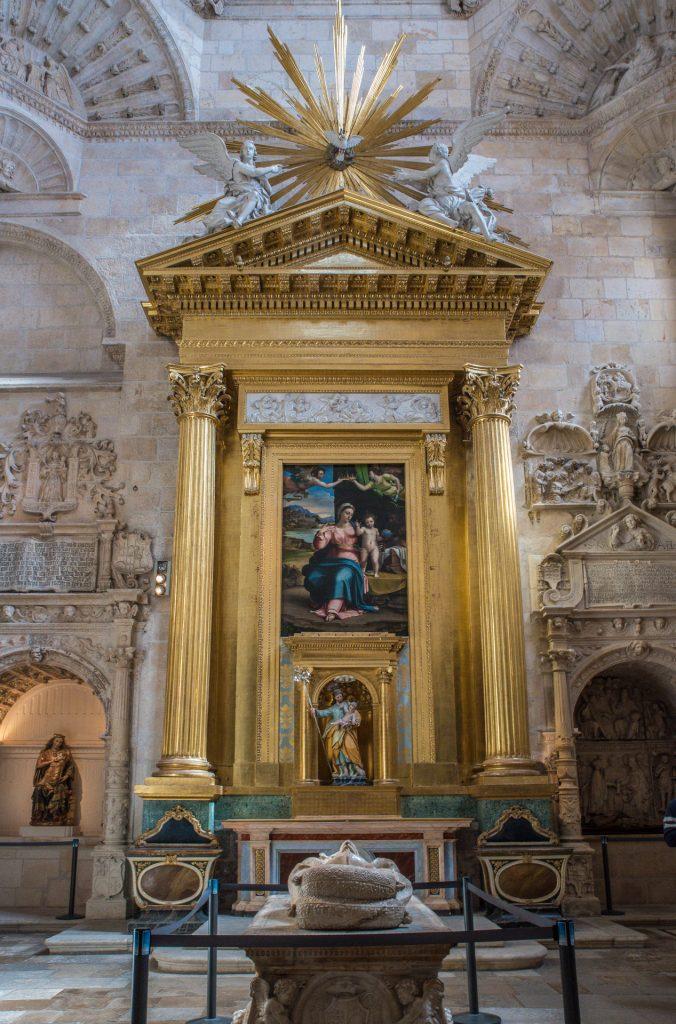 Altar Capilla de la Presentación o de San José- Catedral Santa María Burgos