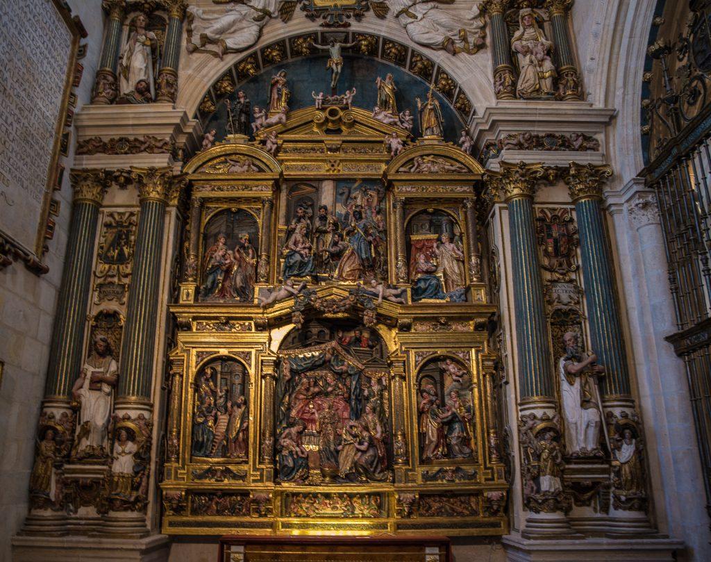 Altarbild - Capilla de la Natividad de la Virgen María