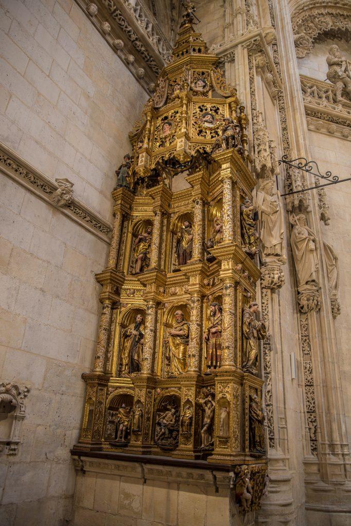 Petrusaltar Capilla de los Condestables - Catedral de Santa María Burgos