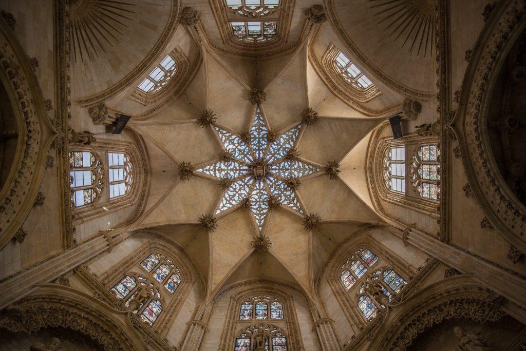 Kuppel Capilla de los Condestables - Catedral de Santa María Burgos