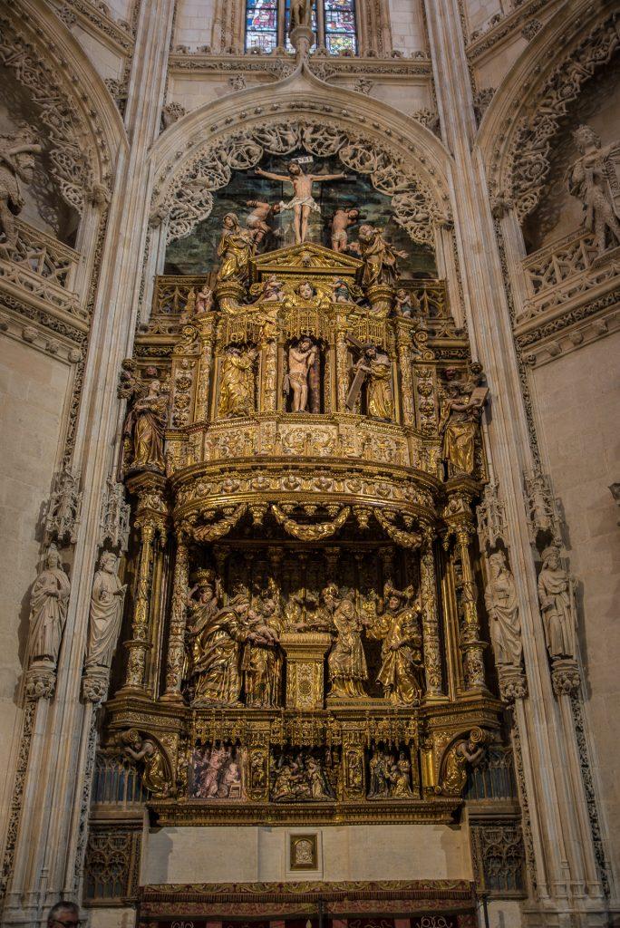 Retabel Capilla de los Condestables - Catedral de Santa María Burgos