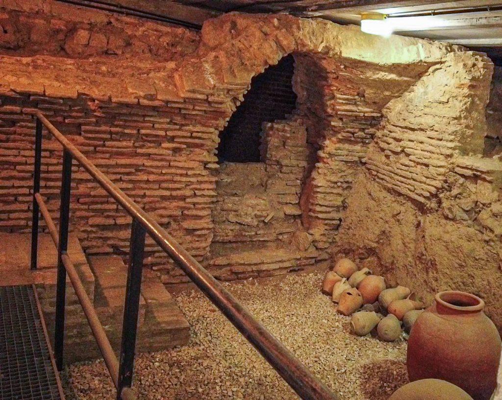 Ausgrabung - Sinagoga del Tránsito Toeldo