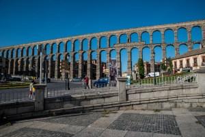 Westansicht Aquädukt - Segovia
